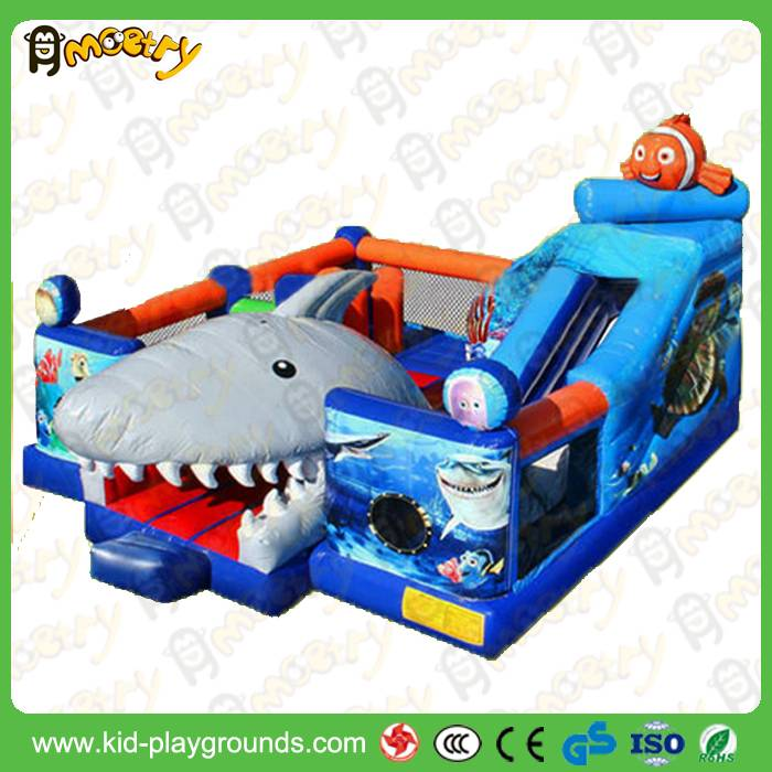 New design small inflatable jumping house inflatable combo slide bounce house