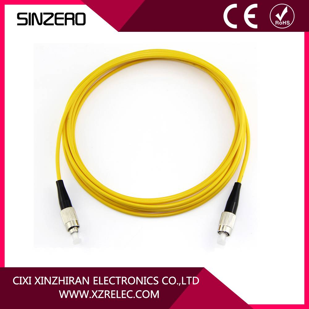 good price single core optical fiber cable XZRF001/FC-LC communication cable