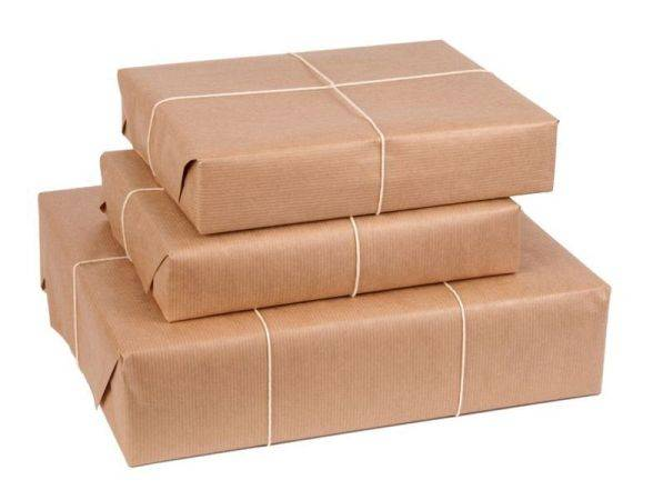 Unbleached uncoated 50gsm packaging kraft paper