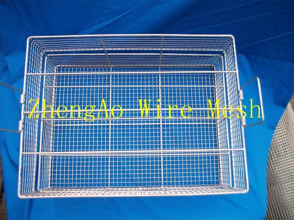 manufacturer of metal medical disinfection basket