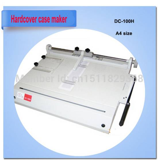 hardcover book cover making machine