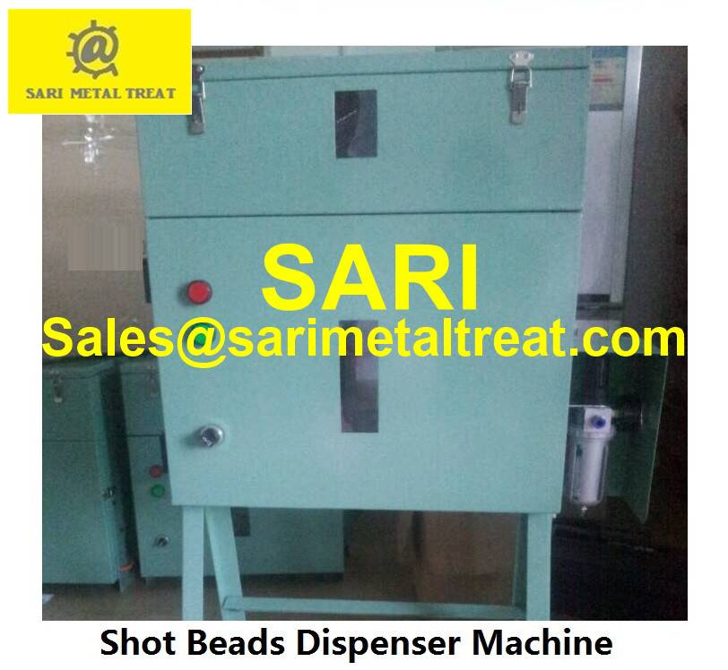 shot beads dispenser machine, plunger lubricant dosing equipment for die casting