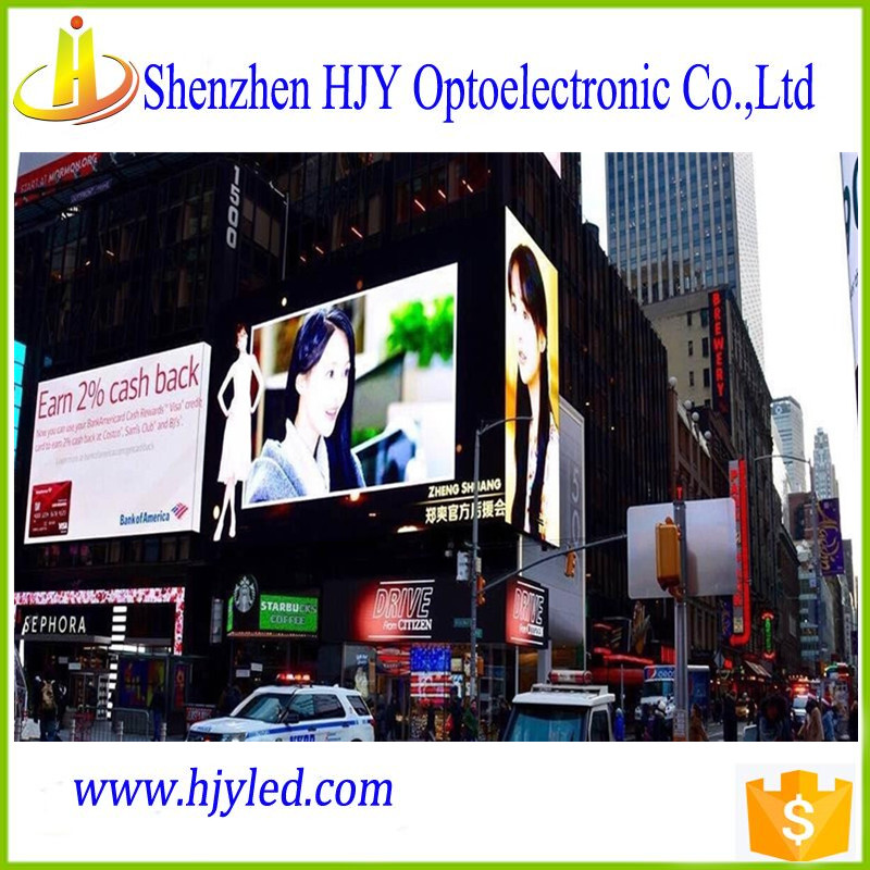 good advertising p10 outdoor full color led display