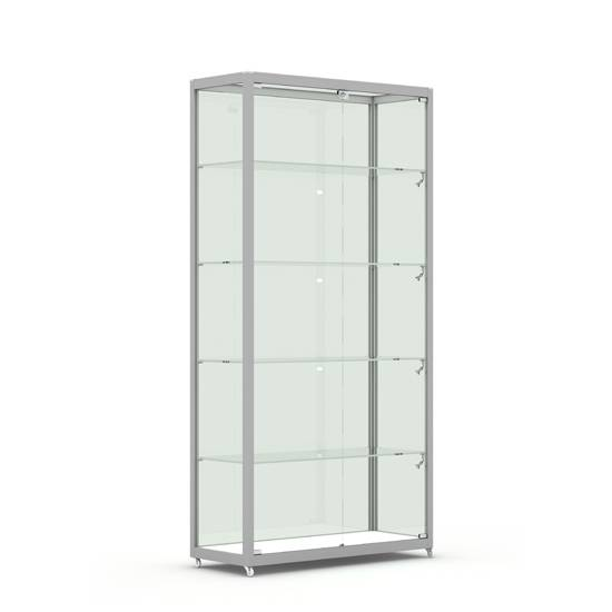 Glass Vision Rectangle Tower Showcase