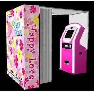 New Purikura Photo Sticker Machine Vending Machine