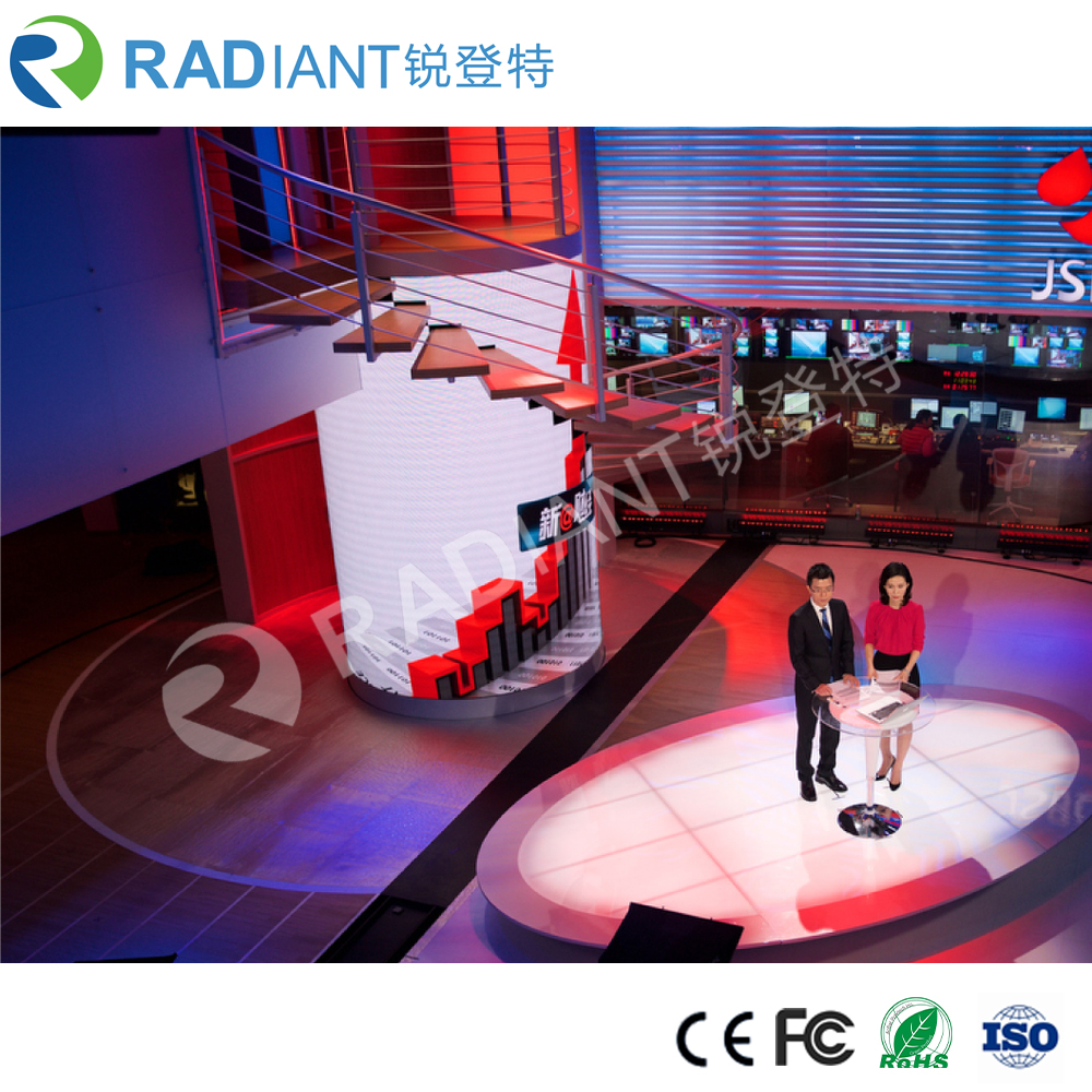 Hot sale high quality low price indoor circle led display factory from china
