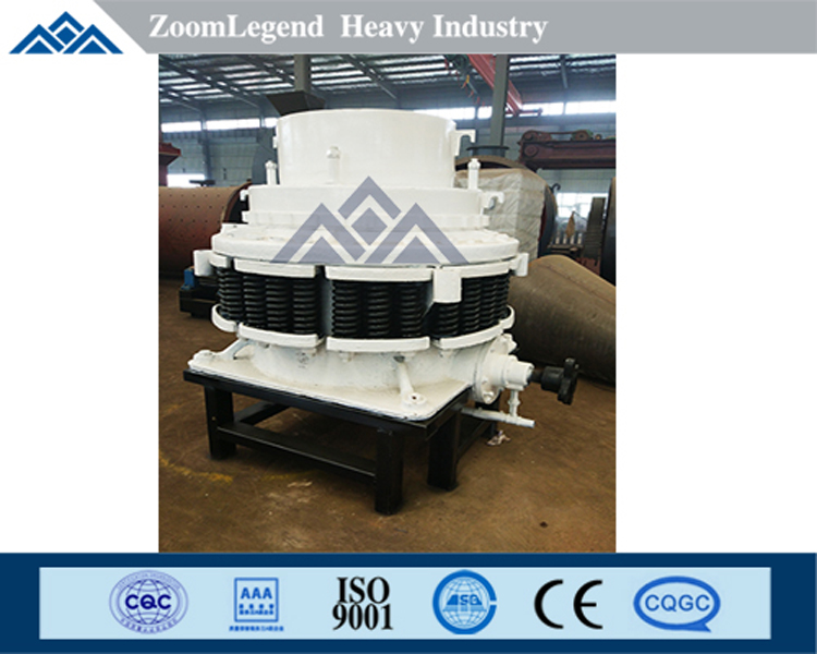 High efficienct hydraulic cone crusher for sale