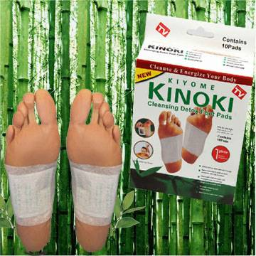 korean kinoki detox foot patch