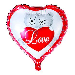 heart shape foil balloon