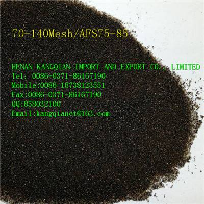 Ceramsite sand AFS75-85/750# resin sand used nice foundry sand