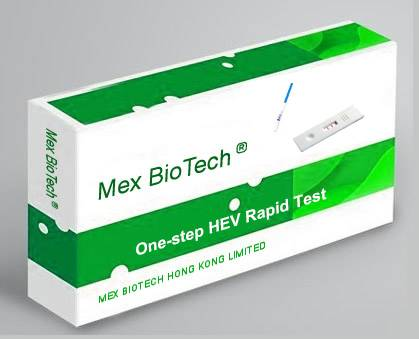 One Step Accurate Hepatitis E Virus (HEV) Rapid Test