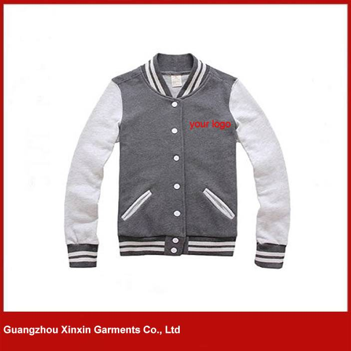 Custom made cotton high quality Men Full Zip Jacket Sweaters