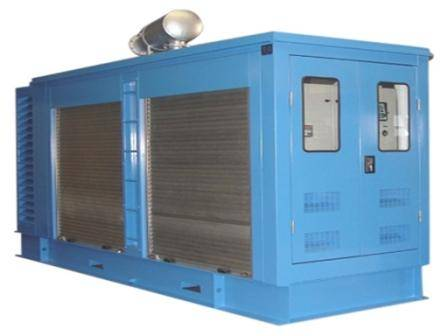 Diesel generator set for port