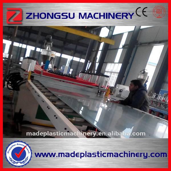 PVC( WPC) WPC wardrobe board making machine (szsj80/156)
