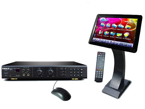 Touch Screen HDD KTV Karaoke Player KOD-7+SV19