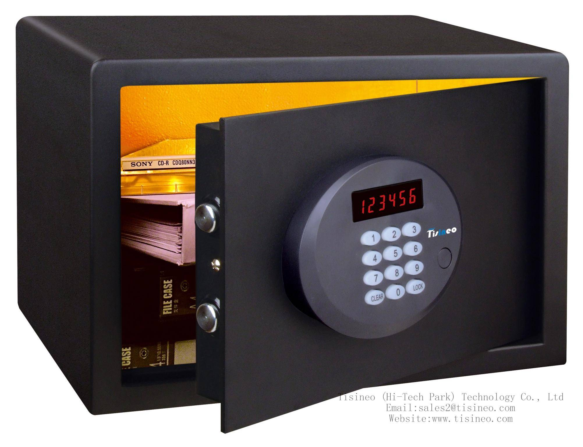 Hotel electronic digital safe Tisineo SShc