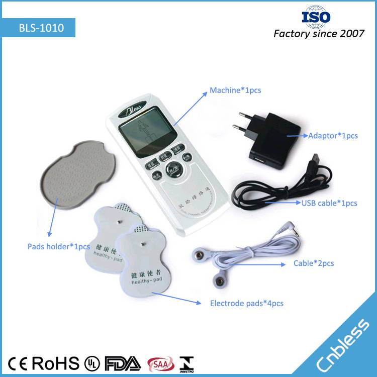 Dual Channel Digital therapy Machine BLS-1010