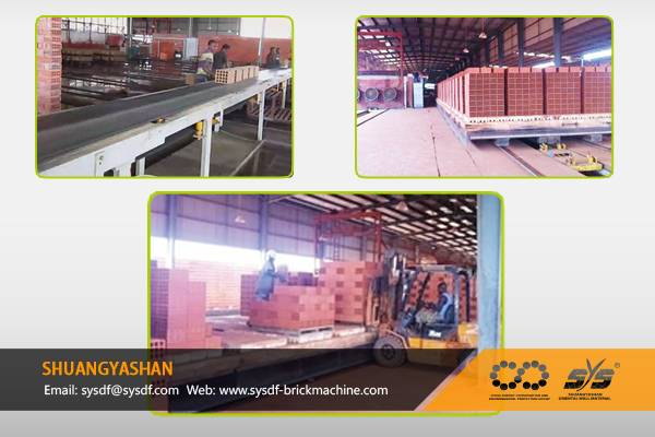 Brick Production Line for Angola