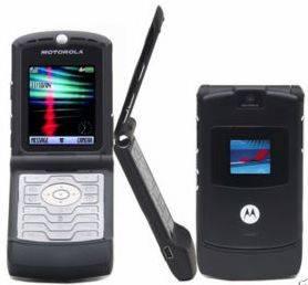 New Unlocked Motorola Razr V3 Camera Mobile Cell Phone