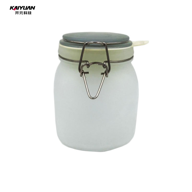 Gifts for lovers frosted glass bottle in factory price