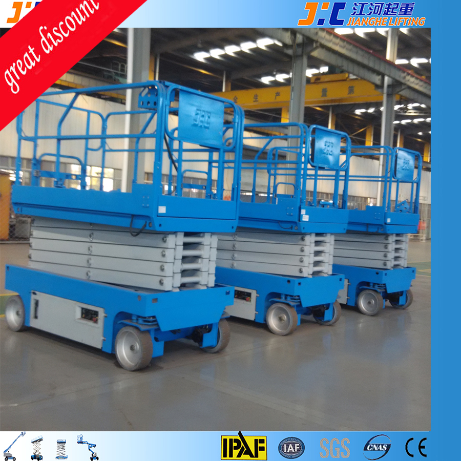 Hot Sale Small Self-Propelled Scissor Lift