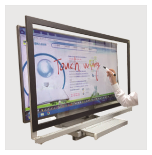 Touch screen interactive white board educational equipment
