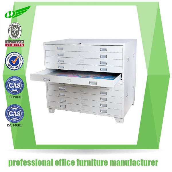 Good quality steel office furniture cabinet price/map plan and paper file cabinet