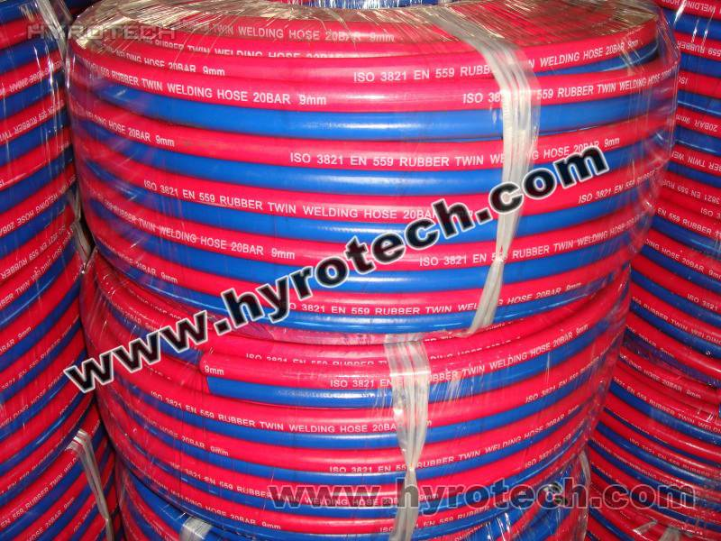 welding hose/gas hose/oxygen acetylene LPG hose