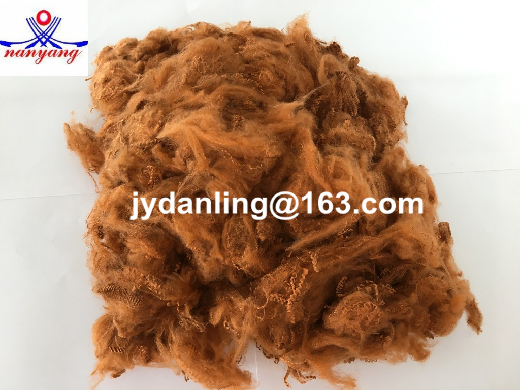 Recycled Dope Dyed Polyester Fiber