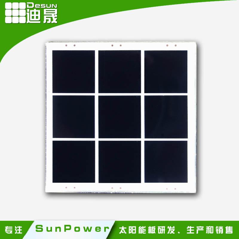 5555mm small sunpower high efficiency PET lamination solar panels