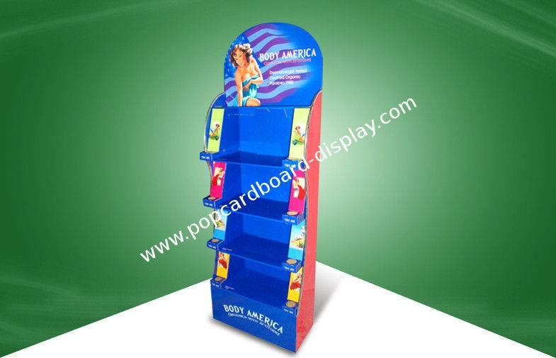 skin care products cardboard display