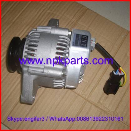 Yanmar engine parts 3TNV88 generator assy alternator 119836-77200