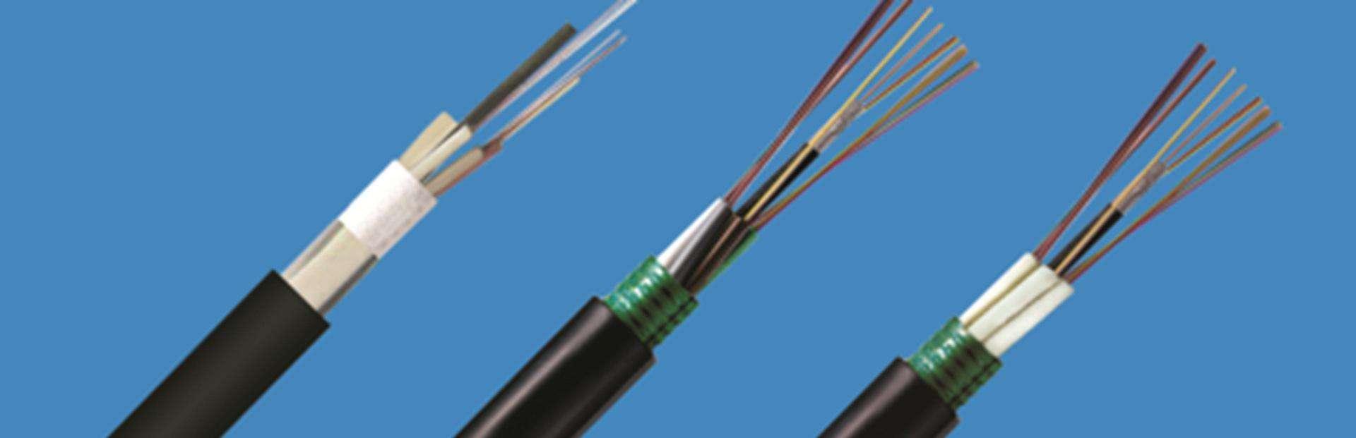 Fiber Cable singlemode, multimode, optic fiber armoured fiber cable
