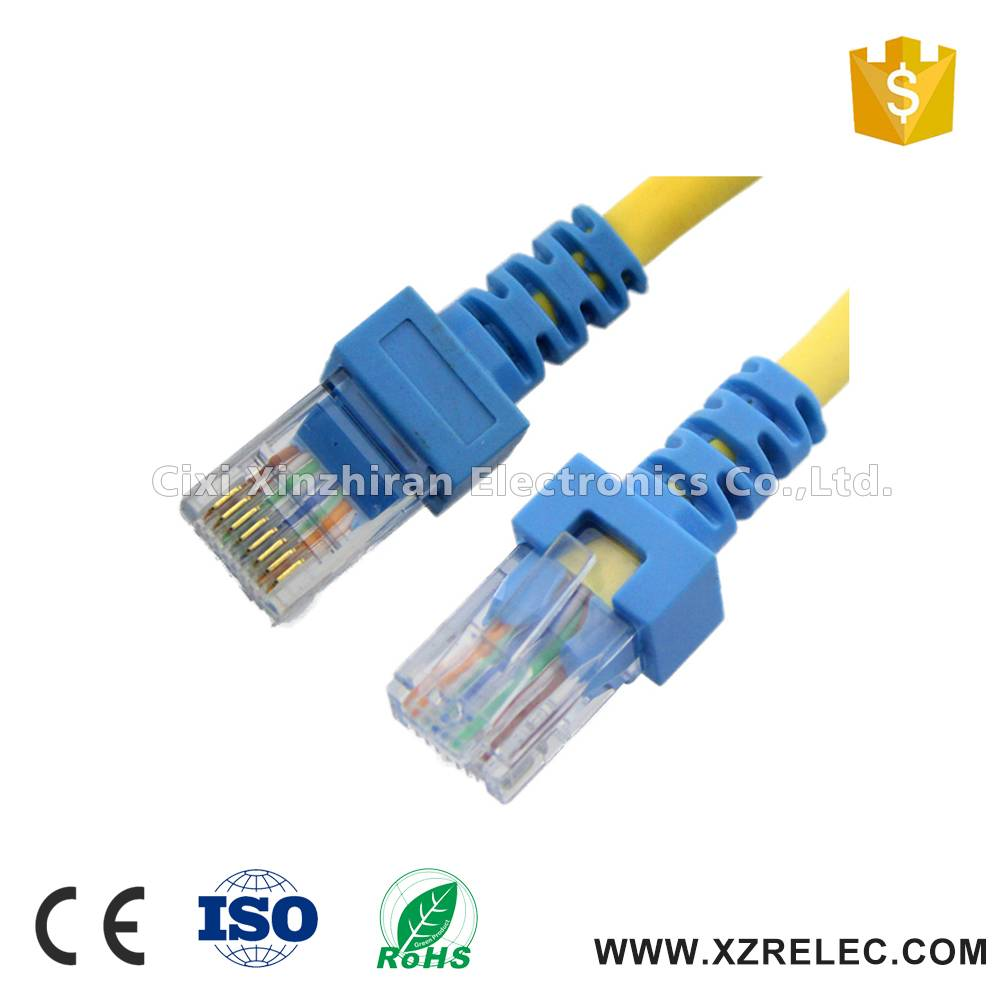 Colorful 28AWG CCA cat5e multi-pair utp cable