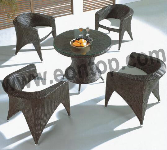 Rattan Table Chair ETP-YXY193