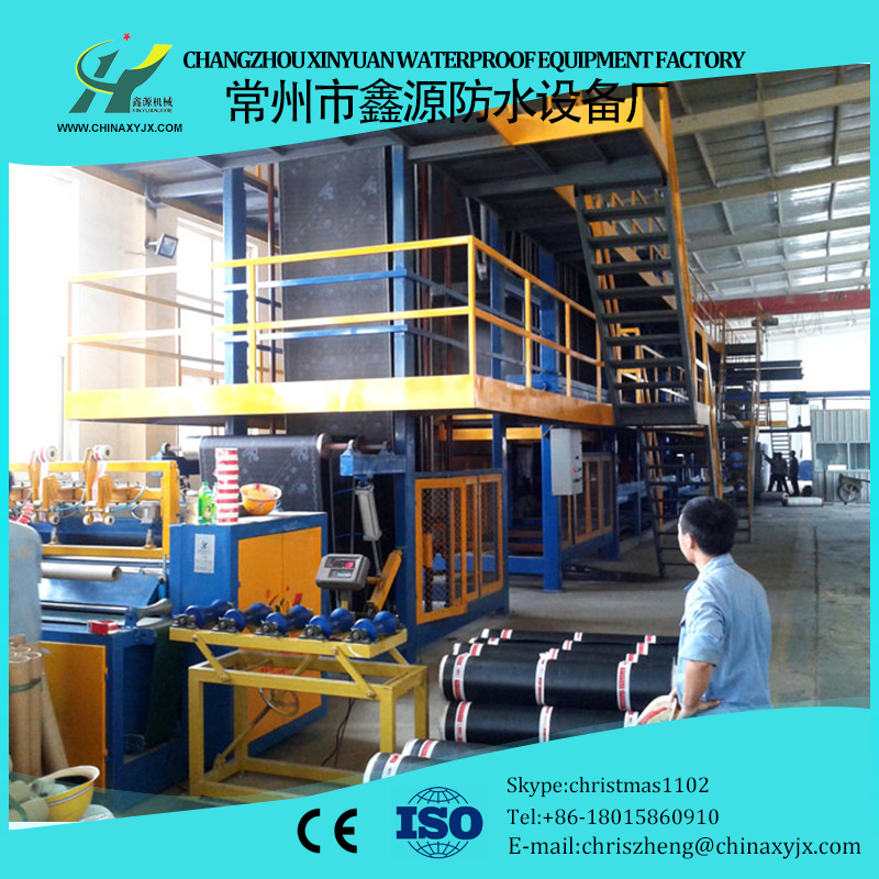 APP modified bitumen waterproof membrane making machine