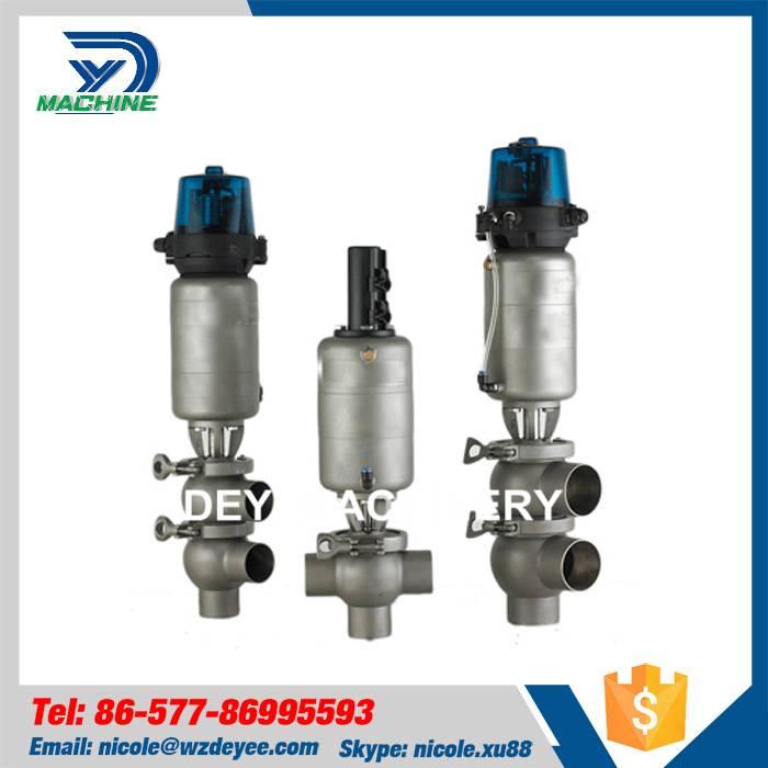 SS304 Sanitary Pneumatic Flow Diversion Valve