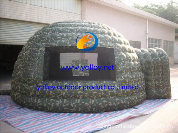 Outdoor Inflatable Camping Relief Military dome Tent
