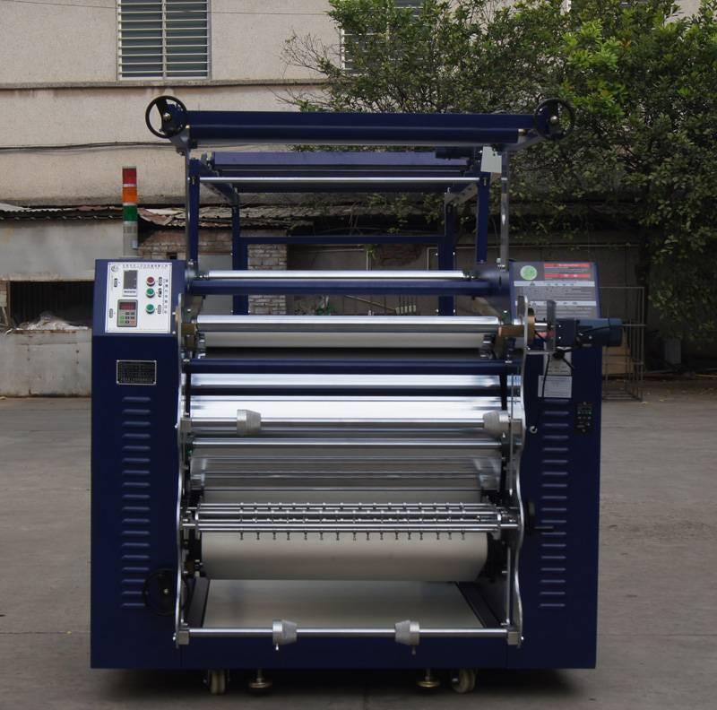 Automatic Lanyard Ribbon Lace Belt Elastic Heat Press Transfer Print Machines in Korea LB2 610/1200