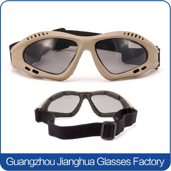 oem eye protective tactical wargame goggles desert strom sun glasses