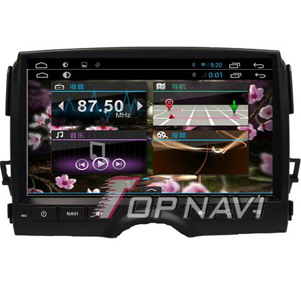 1024*600 10.1inch Android 4.4 Car GPS Player Video For Toyota Reiz Navigation