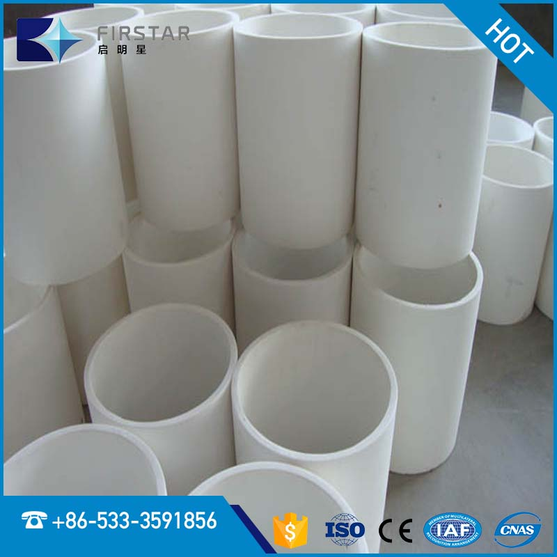 High Alumina Ceramic Wear Resistant Lining Pipe