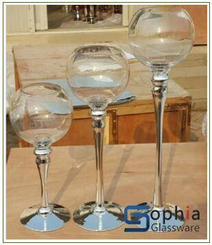 wedding glass vases