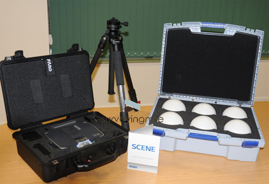 Faro Focus3D S120 Laser Scanner Complete Kit