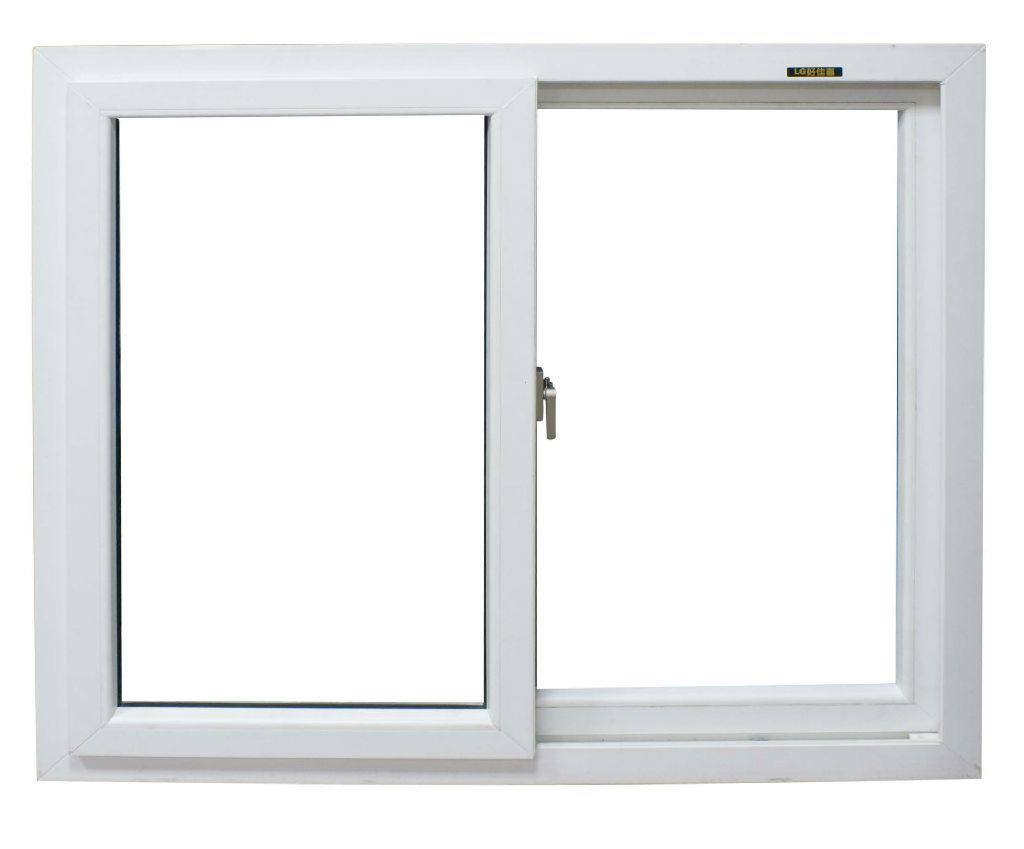 whole sale China whitel upvc horizontal sliding window