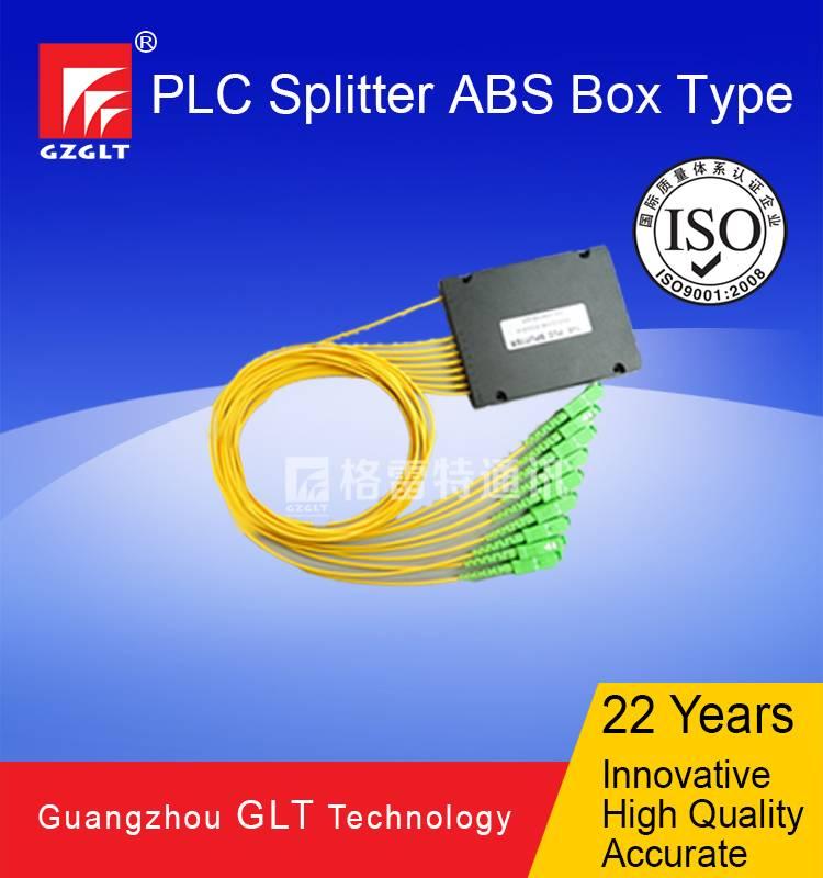 1x8 PLC Splitter in ABS Box