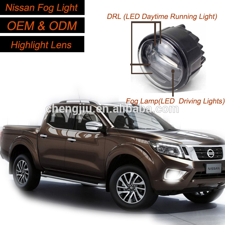 New SUV Pickup truck accessories Nissans Frontier Navara D22 Front bumper fog lights car led driving
