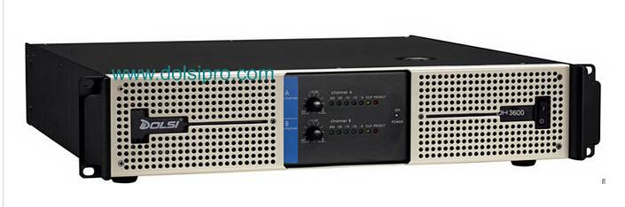Double Channel 2U Professional Power Amplifier DH Series 260W to 900Watt at 8 ohms