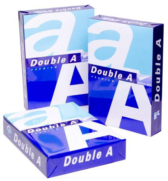 Double A Bond A4 80g A4 Copy Paper 80gsm, 75gsm, 70gsm