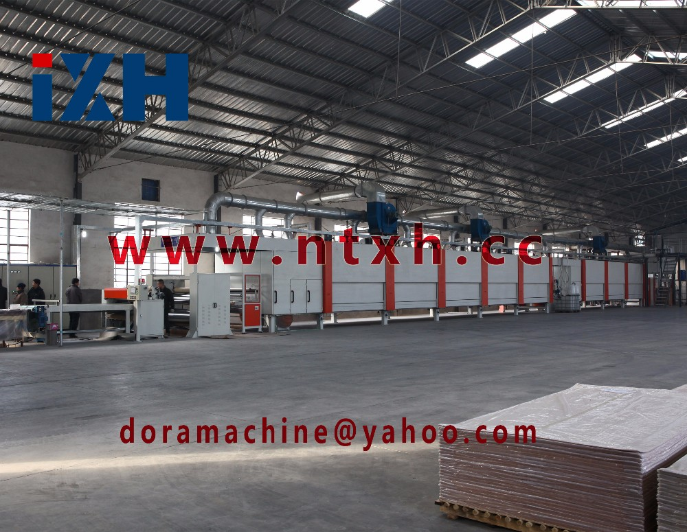 Environmentally friendly Decorative resin paper Two-step impregnation line